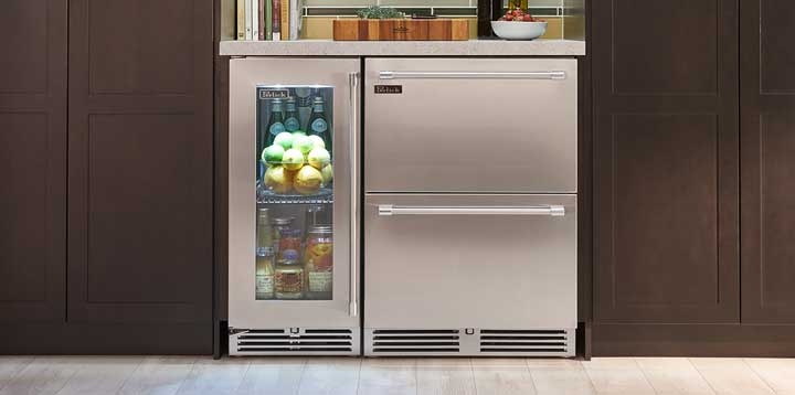 best under counter fridge