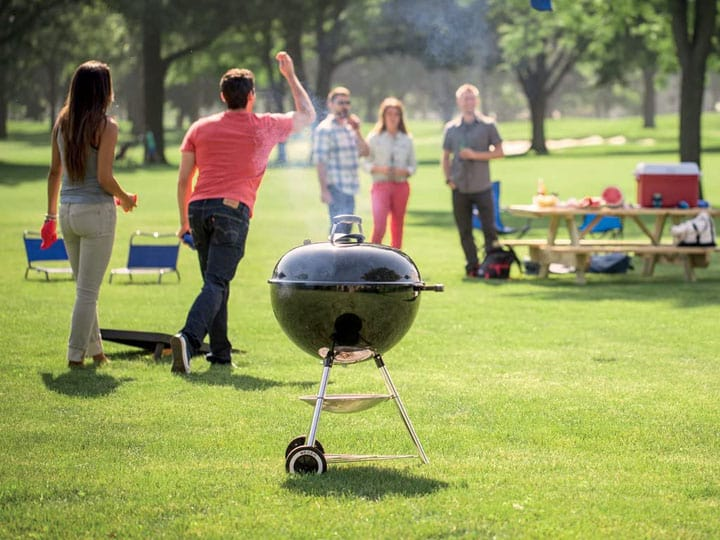 best camping charcoal grill
