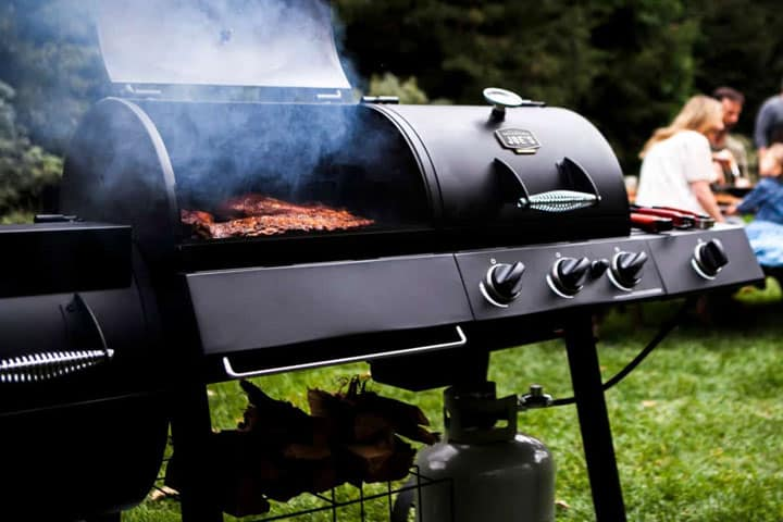 best gas charcoal combo grill