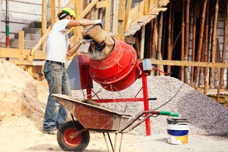 best concrete mixer