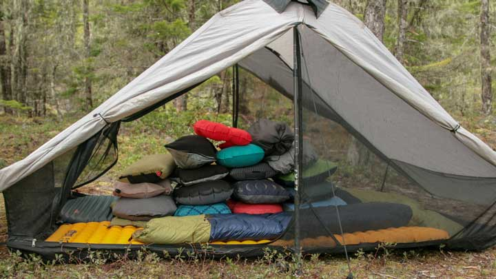 best backpacking pillow for side sleepers