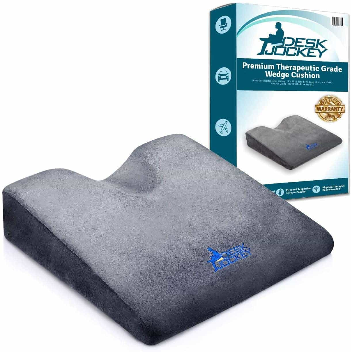 Desk Jockey Car Seat Cushion