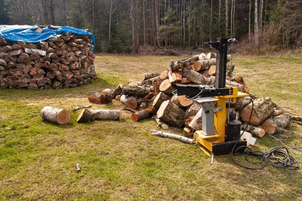 best commercial log splitter