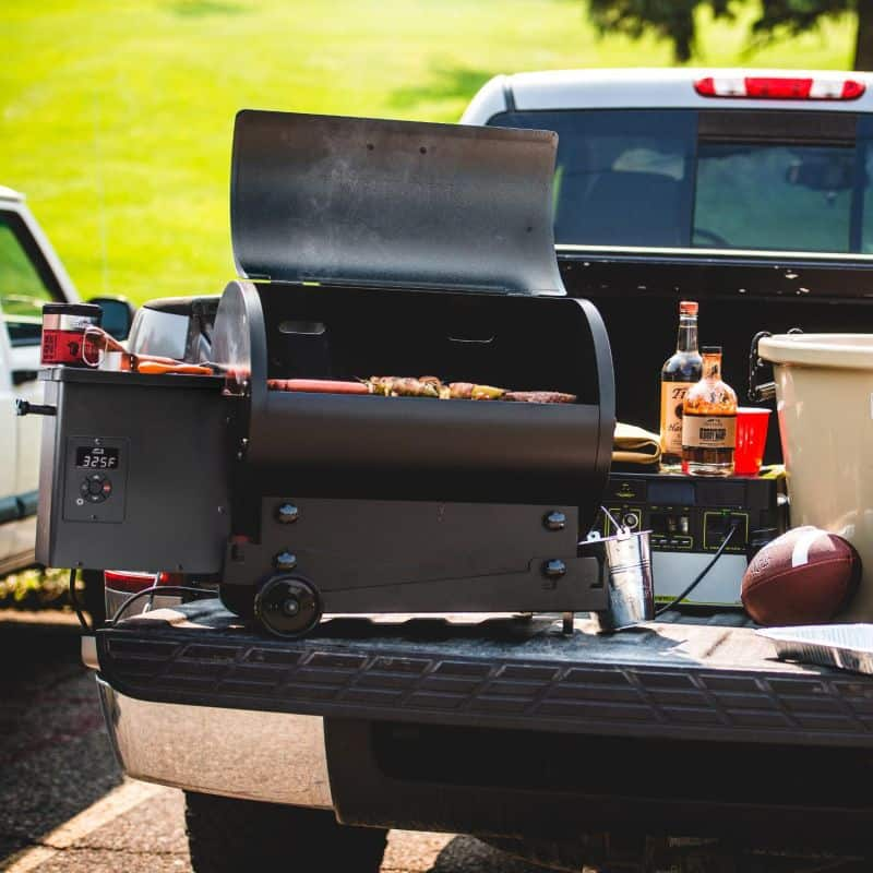Traeger Tailgater 20 Portable Wood Pellet Grill