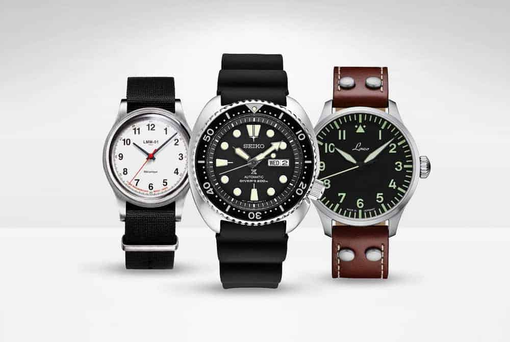 best automatic watches under 500, 200 & 100