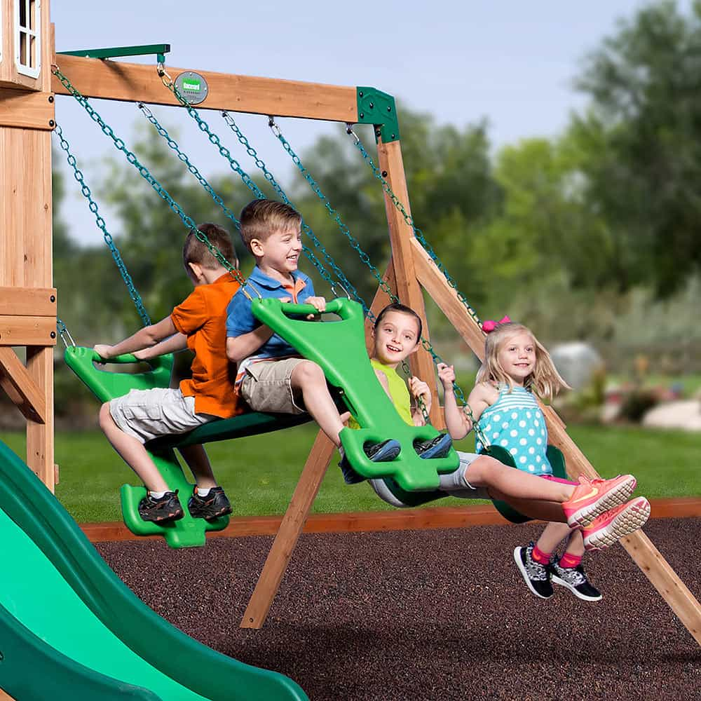 how to prep your yard for a swing set hero