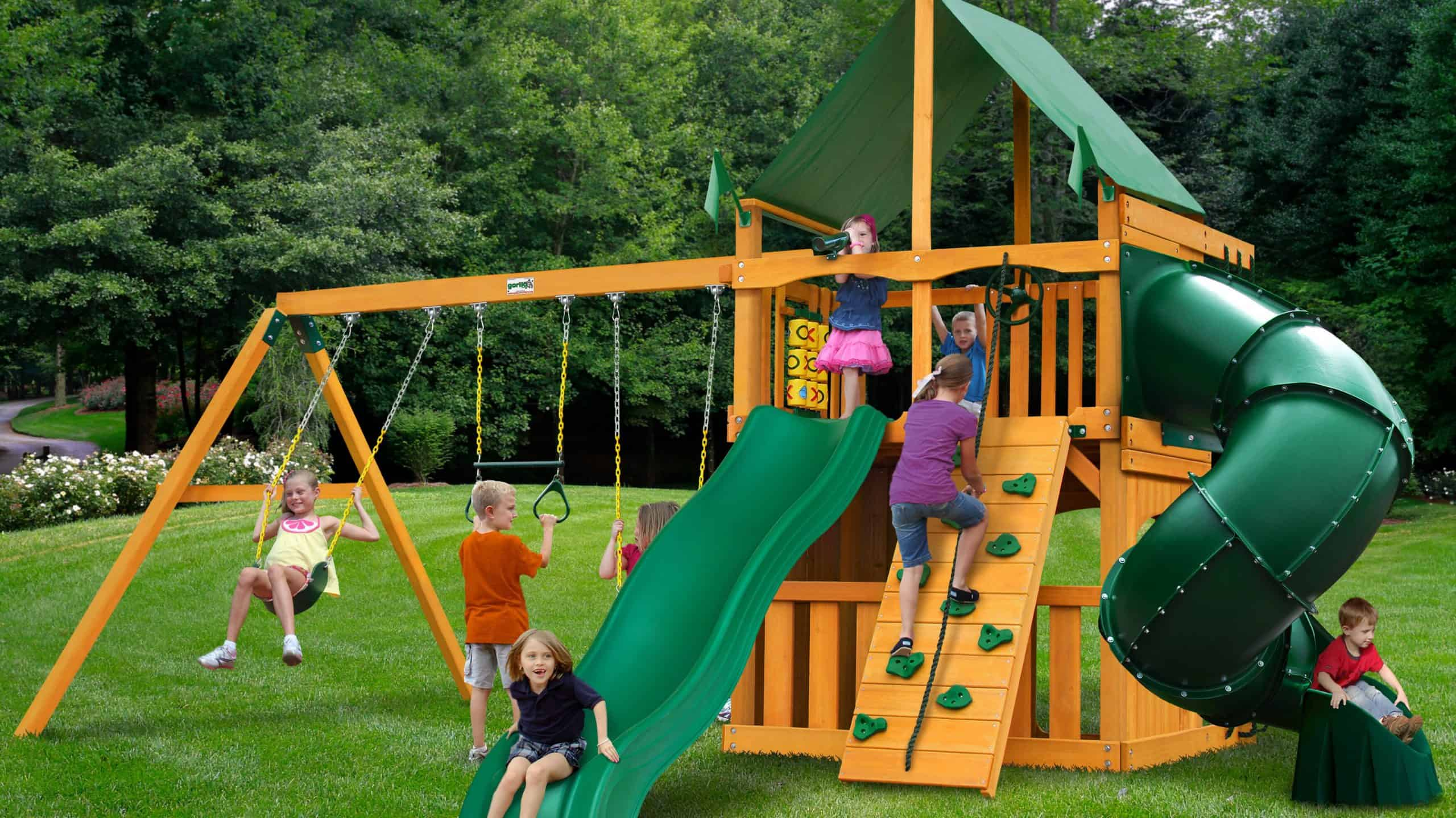 mountaineer clubhouse swing set with canopy roof 41f5000318ac497392909f34047f5d98 scaled