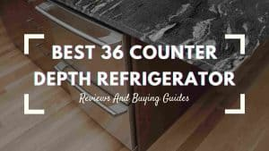 Best 36 Counter Depth Refrigerator