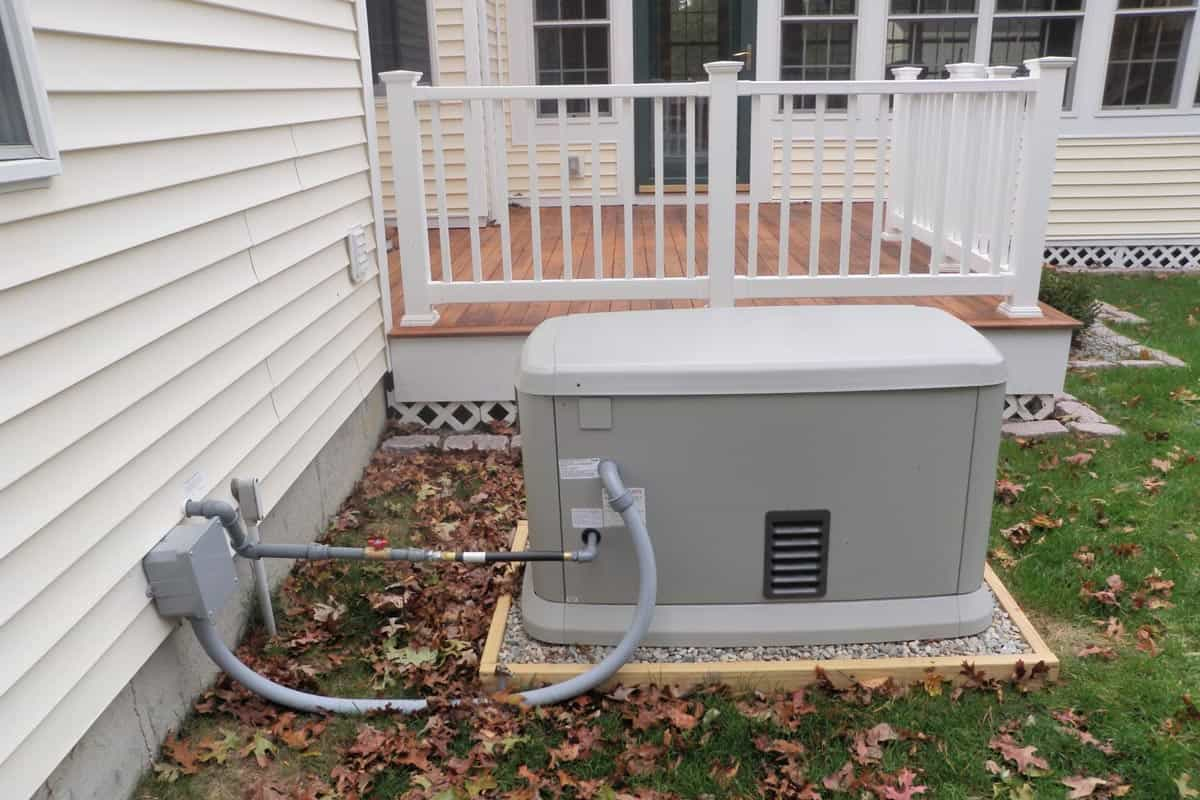 homeguide 20kw whole house generator with natural gas installation