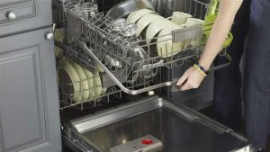 how to load bosch dishwasher