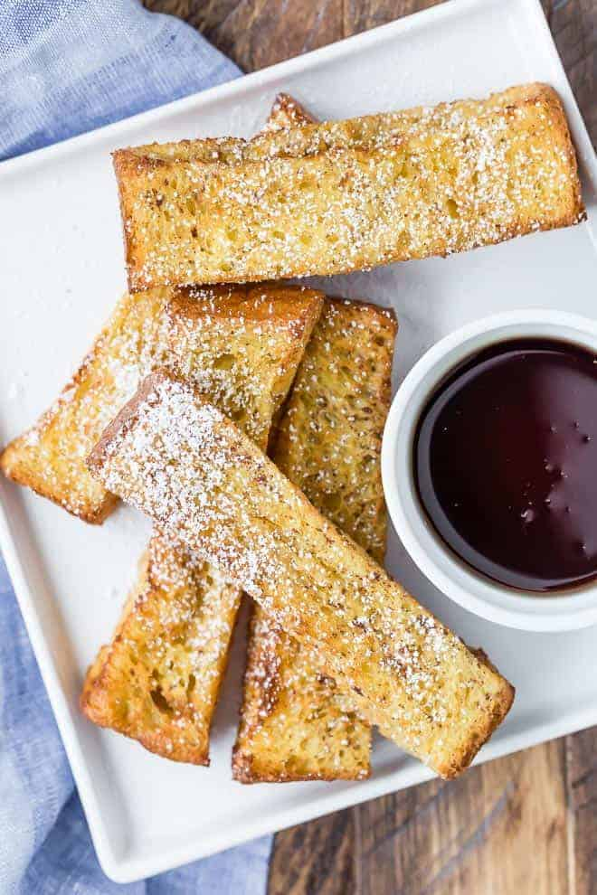 air fryer french toast sticks web 1 of 4