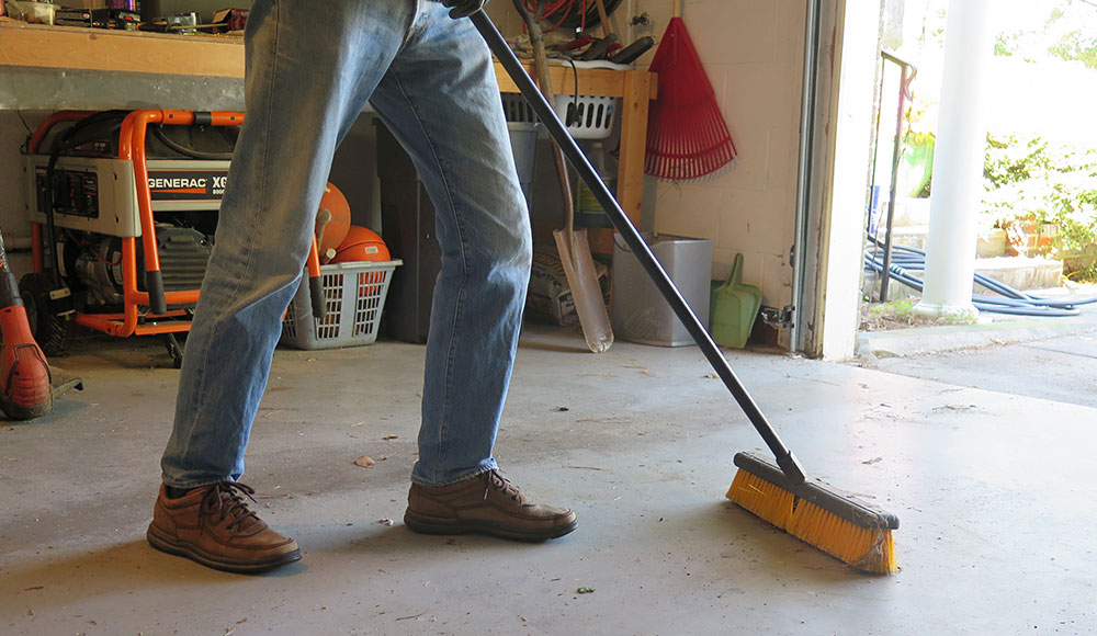 How To Clean Garage Floor Oil Stains