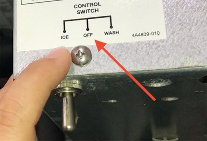 how to clean a manitowoc ice machine