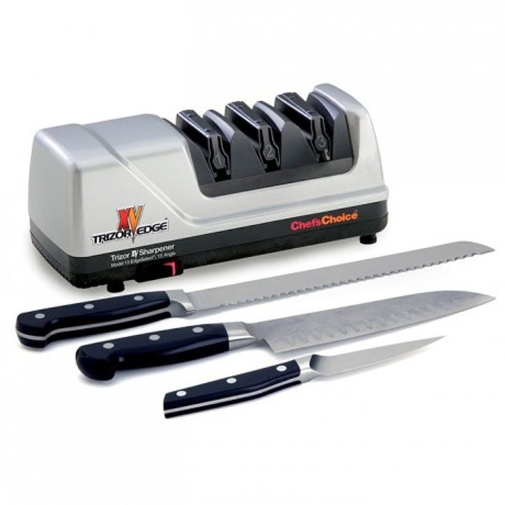 how to sharpen a serrated knife with an electric sharpener