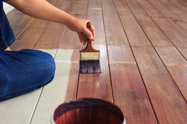 how to make wood floors less slippery