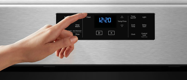 how to steam clean whirlpool oven